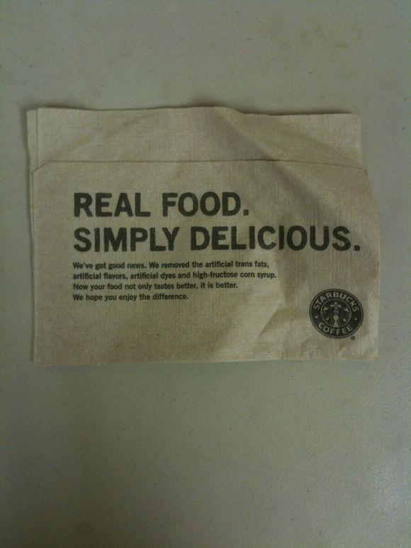 Real World Check/Starbucks
